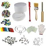 Professional Large Microwave Kiln Kit 14pcs Set For DIY Jewelry...