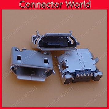 Gimax 50pcs Type B,Female Right angle USB connector,USB socket