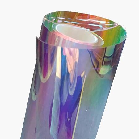 HOHOFILM 137,2/x 50,8/cm Effet Arc-en-Ciel iris/é Window Film d/écoratif en Verre Autocollant Chamelon Couleur Autocollant