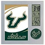 WinCraft NCAA University of South Florida Desk Clock, Black