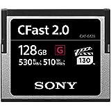 Sony CAT-G128 128GB High Performance CFast G Series 2.0 Memory Card