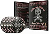 Professional ADVANCE TATTOOING 4-DISC Disc DVD Set Learn How to Tattoo Supply