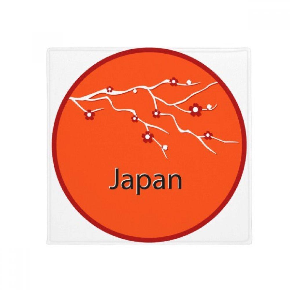 DIYthinker Japan Culture Sakura Art Pattern Anti-Slip Floor Pet Mat Square Home Kitchen Door 80Cm Gift