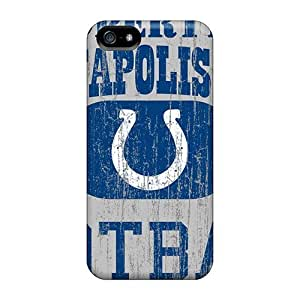 High Impact Dirt/shock Proof Cases Covers For Iphone 5/5s (indianapolis Colts)