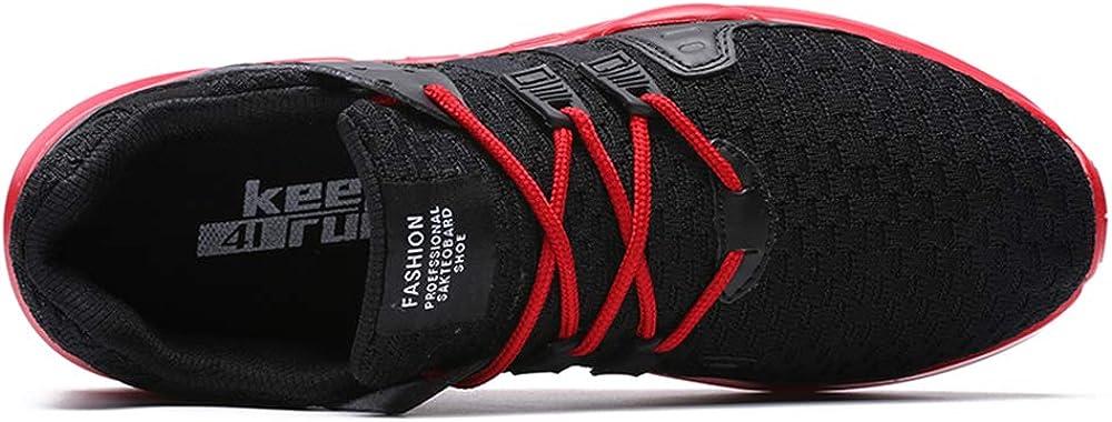 SITAILE Herren Sportschuhe Atmungsaktiv Gym Turnschuhe Leichtgewicht Laufschuhe Lace Up Freizeitschuhe Trainer Outdoor Sneaker Shoes