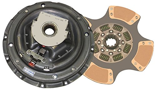 IATCO 107213-5-IAT 14'' x 1-3/4'' Stamped Steel Clutch (Single-Plate, 4-Paddle / 8-Spring, 2800 Plate Load / 650 Torque) by IATCO