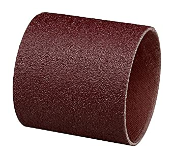 1-1//2 Diameter x 1 Width Pack of 100 3M  Cloth Band 341D Brown 36 Grit