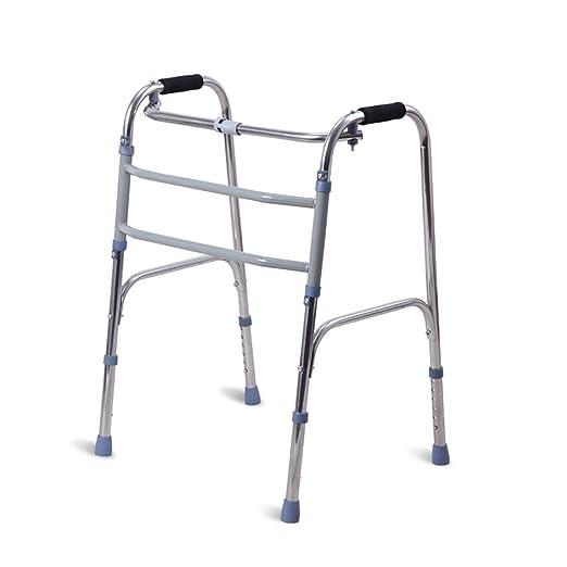 Marco para Caminar Acero Inoxidable Grueso Andador Anciano ...
