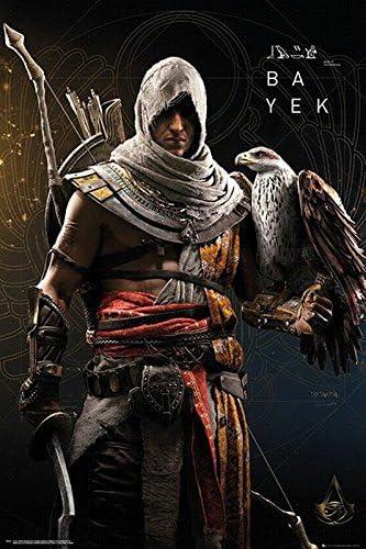 Assassin S Creed Origins Poster Bayek 61cm X 91 5cm Amazon Co Uk Kitchen Home