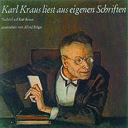 Karl Kraus liest aus eigenen Schriften