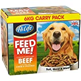 HiLife Feed Me! Dog Food Beef & Fresh Vegetables With Cheese '6kg Value Box'