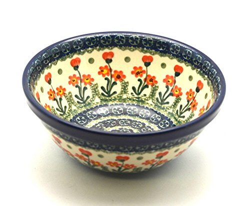 Polish Pottery Bowl - Medium Nesting (6 1/2