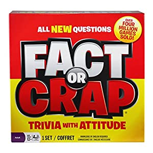 Fact or Crap Board Game - 51kW8Ai0uDL - Fact or Crap Board Game