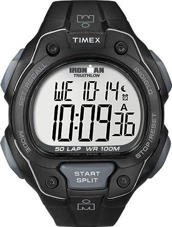 Amazon.com: Timex de los hombres t5 K495 Ironman tradicional ...