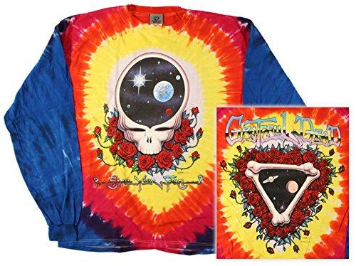 Long Sleeve: Grateful Dead - Space Your Face Longsleeve Shirt Size XL]()