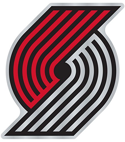 Wincraft NBA PORTLAND TRAIL BLAZERS Team Auto Badge Decal