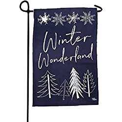 Port North Winter Wonderland Double Sided Outdoor Garden Flag