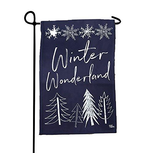 Port North Winter Wonderland Double Sided Outdoor Garden Flag