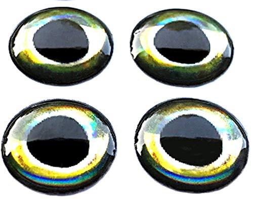 Brule 3-D Hard Epoxy Eyes (Aura, 5mm)
