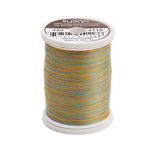 Sulky Blendables Thread for Sewing, 500-Yard, Caribbean