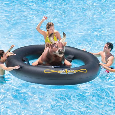 Review Intex Inflat-A-Bull, Inflatable Pool