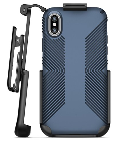 Encased Belt Clip Holster for Speck Presidio Grip Case - Apple iPhone X/iPhone Xs (case not Included)