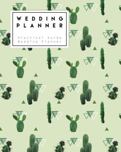 Wedding Planner: Vintage Cactus | Practical Guide Wedding Planner - Size 8x10