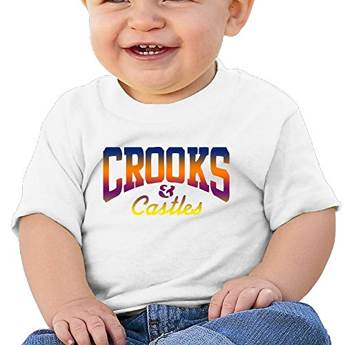 Price comparison product image Crooks And Castles Babies (6-24 Months Baby) Unisex T-Shirt
