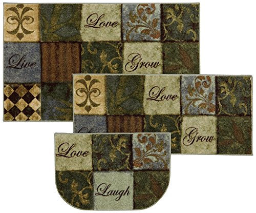 Mohawk Home New Wave Les Fleurs La Terre Printed Rug, Set, Multi