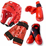 Macho Dyna 7 piece sparring gear set with shin guards