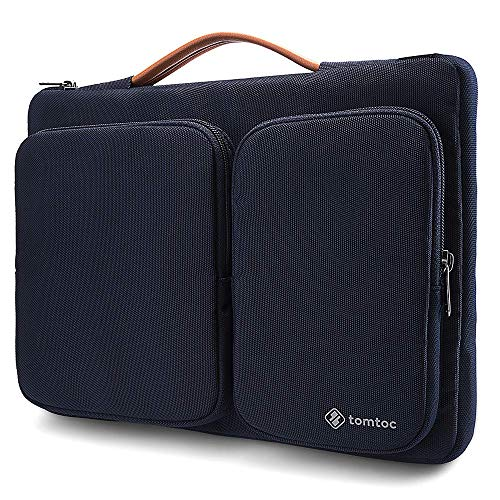 tomtoc 360° Protective Laptop Sleeve for 13-13.5 Inch Old MacBook Air | MacBook Pro Retina 2012-2015 | 13.5