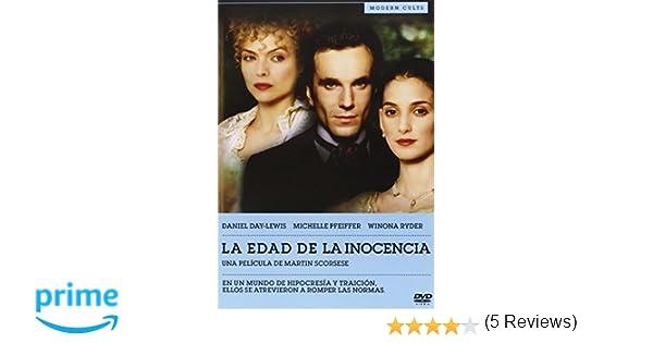 La Edad De La Inocencia [DVD]: Amazon.es: Daniel Day-Lewis, Michelle Pfeiffer, Winona Ryder, Martin Scorsese, Barbara De Fina: Cine y Series TV