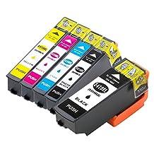 5 Replacement 410XL 410 XL T410XL020 Ink Cartridge Compatible for Epson Expression XP-830 XP-630 XP-530 XP-635 XP-640 Printer