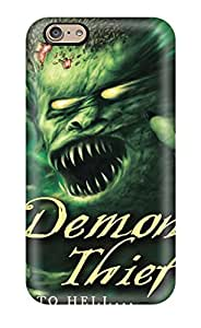 New Cute Funny Demon Thief Case Cover/ Iphone 6 Case Cover