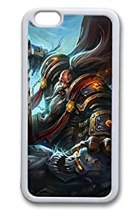 iPhone 6 Case - Best Water Resistant Case Cover for iPhone 6 World Of Warcraft Bitva Monster Protective White Soft Back Case for iPhone 6 4.7 Inches