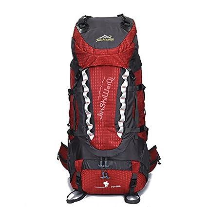 JWBB Montañismo 80L bolsa bolsa exterior impermeable mochila deportiva de gran capacidad, carpa de camping