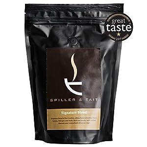 Spiller & Tait Signature Blend - Sacchetto per caffè da 250 g – premiato multigiocatore – appena tostato nel Regno Unito…