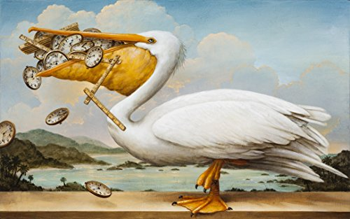 Artifact Puzzles - Kevin Sloan The Worrier Wooden Jigsaw Puzzle