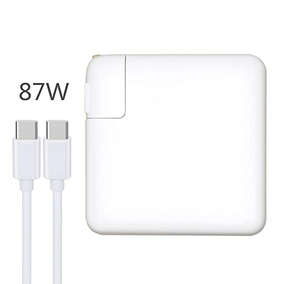 87W Type C A1719 Replacement Charger Compatible for Apple MacBook Pro 15