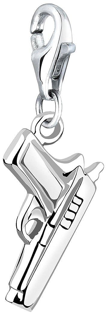 Nenalina Charm Pistole Anhänger in 925 Sterling Silber für alle gängigen Charmträger 713131-000