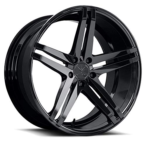 Verde Wheels Parallax Gloss Black Wheel (19 x 9.5 inches /5 x 115 mm, 20 mm Offset)
