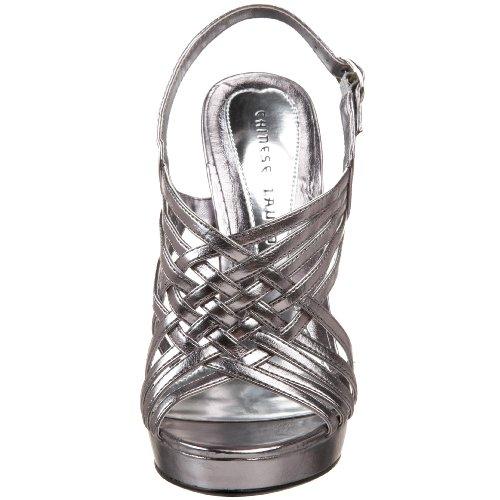 Chinese Wasvrouw Voor Altijd Metallic Sandaal Tin