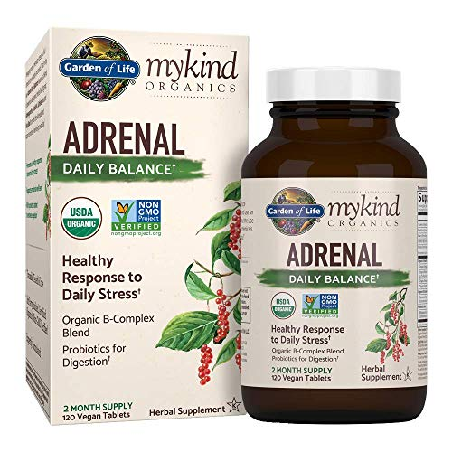 Top 10 Garden Of Life Mykind Organics Adrenal