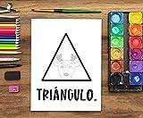 Libro de colorear para niños: Formas Letras