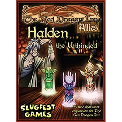 Red Dragon Inn: Allies Halden The Unhinged Card Game: Toys & Games