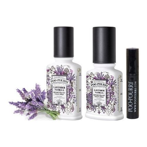 Poo-Pourri Bathroom Deodorizer Set, Lavender Vanilla by Poo-Pourri (Image #1)