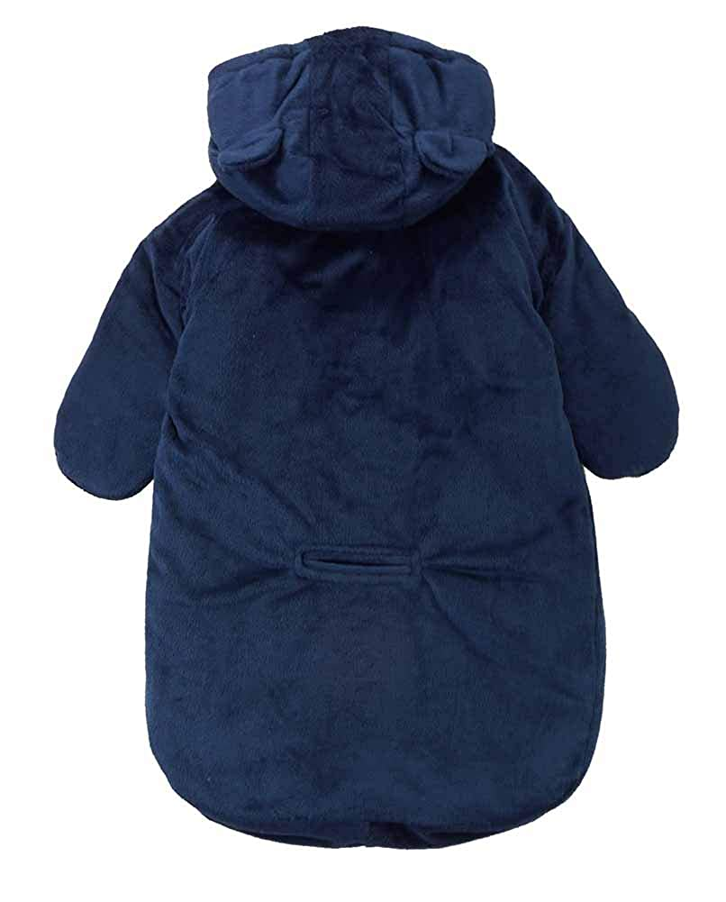 Carters Baby Boys Bundle Up Cozy Pram Bag with Ears