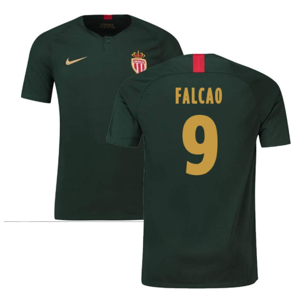 2018-19 Monaco Away Football Soccer T-Shirt Trikot (Radamel Falcao 9) - Kids