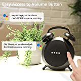 Google Home Mini Stand Holder, Retro Alarm Clock