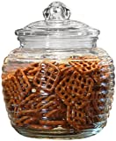 Circleware Ribbed Canister With Glass Lid 1450ml
